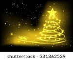 vector background christmas... | Shutterstock .eps vector #531362539