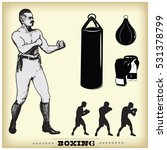 Boxing. Vintage Style...