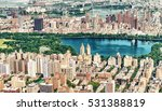 helicopter view of central park ... | Shutterstock . vector #531388819