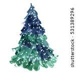 New Year Christmas Tree...