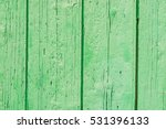 Green Wood Background Texture.