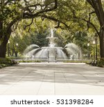 fountain in forsyth park ... | Shutterstock . vector #531398284
