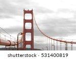 South Pillar Of The Golden Gate ...