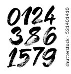vector set of calligraphic... | Shutterstock .eps vector #531401410