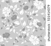 vector seamless pattern flowers ... | Shutterstock .eps vector #531414379