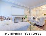 interior design of a luxury... | Shutterstock . vector #531419518