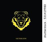 lion head icon. logo template...   Shutterstock .eps vector #531419980