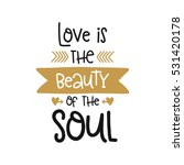 vector poster with phrase and... | Shutterstock .eps vector #531420178