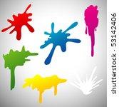 splats | Shutterstock .eps vector #53142406