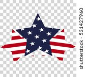 american united states stars... | Shutterstock .eps vector #531427960