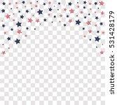 american united states stars... | Shutterstock .eps vector #531428179