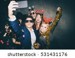 group of friends at club making ... | Shutterstock . vector #531431176