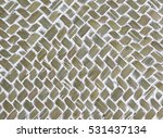 woven bast texture | Shutterstock . vector #531437134