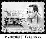 thailand   circa 2016  a thai...   Shutterstock . vector #531450190