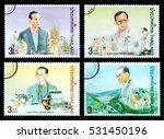 thailand   circa 2016  4 thai...   Shutterstock . vector #531450196