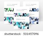 geometric background template...   Shutterstock .eps vector #531457096