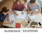 doing homework | Shutterstock . vector #531459340