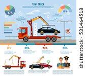 car service infographic  auto... | Shutterstock .eps vector #531464518