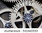macro photo of tooth wheel... | Shutterstock . vector #531465553
