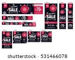 christmas sale advertising... | Shutterstock .eps vector #531466078