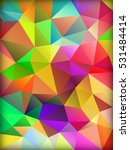 vector colorful abstract... | Shutterstock .eps vector #531484414