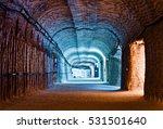 Interior Of The Underground...