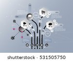 vector of infographic | Shutterstock .eps vector #531505750