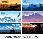 vector set of panorams... | Shutterstock .eps vector #531513793