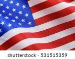 election simbol on usa flag... | Shutterstock . vector #531515359