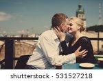 the lovely couple in love... | Shutterstock . vector #531527218