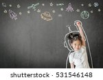 kid's learning inspiration in... | Shutterstock . vector #531546148