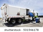 Industrial Garbage Truck With...