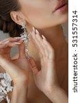 beautiful bride portrait... | Shutterstock . vector #531557314