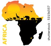 africa   Shutterstock .eps vector #53156557
