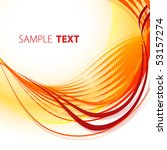 fiery abstract background.... | Shutterstock .eps vector #53157274