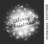 merry christmas illustration on ... | Shutterstock .eps vector #531574408