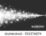 snow blizzard effect on... | Shutterstock .eps vector #531576874