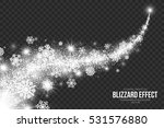 snow blizzard effect on... | Shutterstock .eps vector #531576880