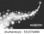 snow blizzard effect on... | Shutterstock .eps vector #531576880