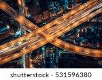 express ways  toll way  high... | Shutterstock . vector #531596380