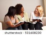 women reading | Shutterstock . vector #531608230