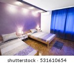 Bedroom With Two Single Bed An...