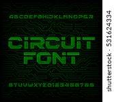 futuristic circuit board... | Shutterstock .eps vector #531624334