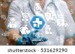 medicine health care digital... | Shutterstock . vector #531629290