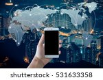 network and connection...   Shutterstock . vector #531633358