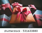 gifts for christmas. stylish... | Shutterstock . vector #531633880