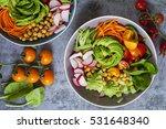 Buddha Bowl Of Mixed Vegetable...