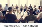people meeting seminar office... | Shutterstock . vector #531648700