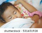 breastfeeding 11 months asian... | Shutterstock . vector #531651928