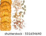 cookies cereal with milk studio ... | Shutterstock . vector #531654640